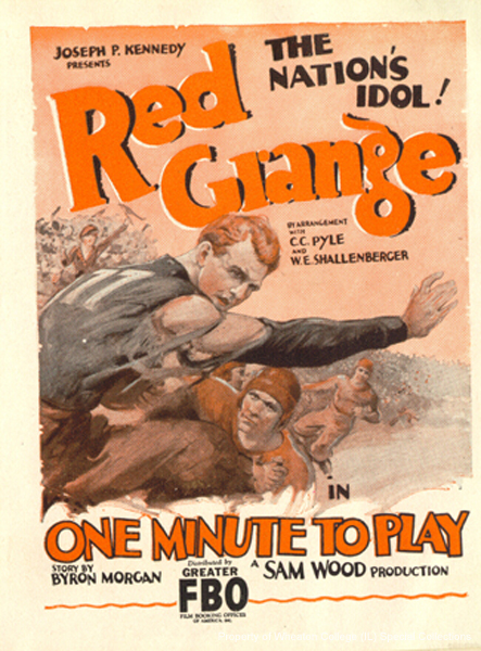 red_grange_one_minute_to_play_1926
