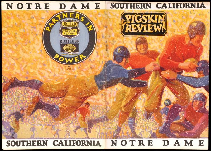 USC vs. Notre Dame 1926   J. H. Graham