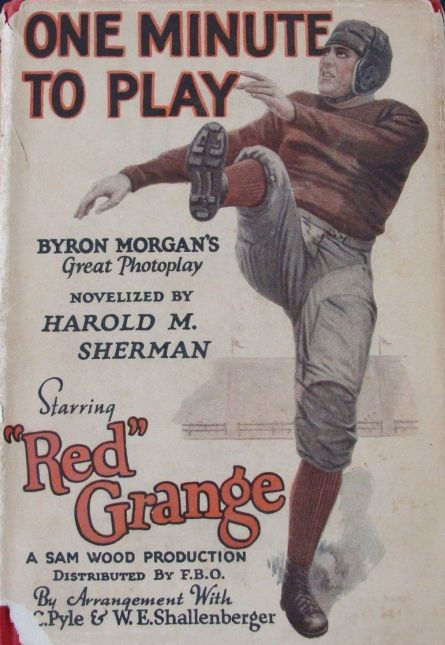 red_grange_one_minute_to_play_book_1926