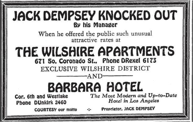 jack_dempsey_barbara_hotel_wilshire_apartments