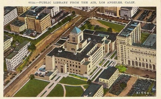 Los Angeles Public Library 1920s