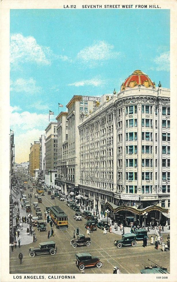 Pantages-Theater-Los-Angeles 1920s 7th-and-Hill
