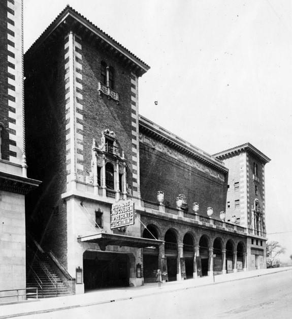 biltmore theater los angeles