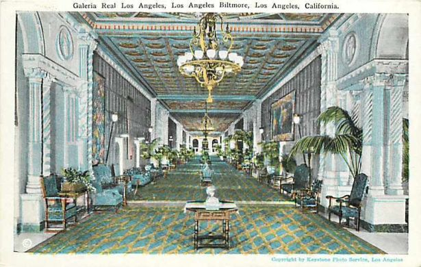 los angeles biltmore galeria real 1920s
