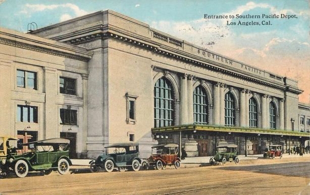 Los Angeles Central Station Southern Pacific Depot