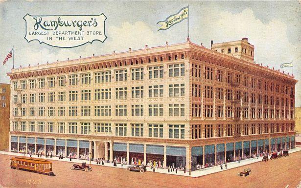 Hamburger's May company Los Angeles