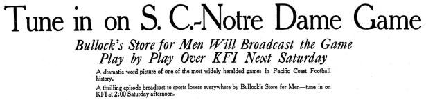 kfi-bullocks_USC-v_Notre_Dame_1926