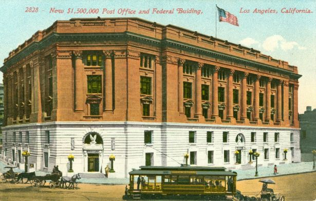 Los Angeles post office and federal building