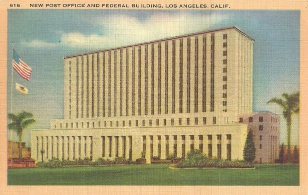 los angeles post office federal building 1939