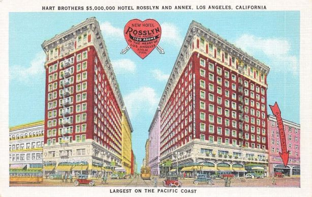 rosslyn hotel los Angeles