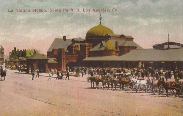 Los Angeles Santa Fe La Grande Station