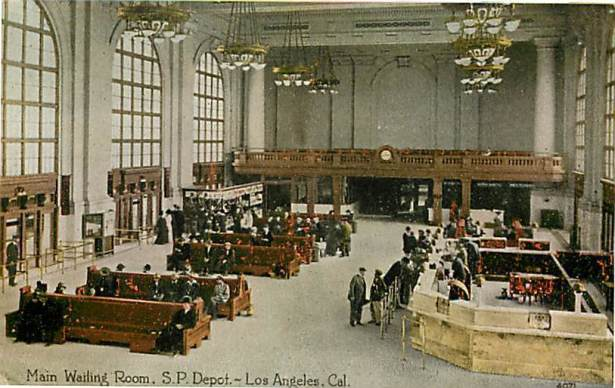 Los Angeles Southern Pacific Central Depot