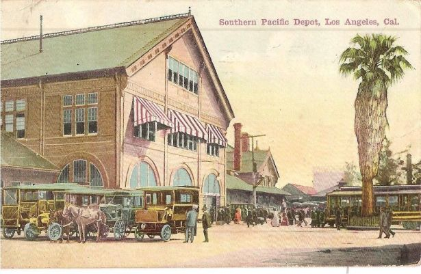 Los Angeles Southern Pacific Arcade Depot