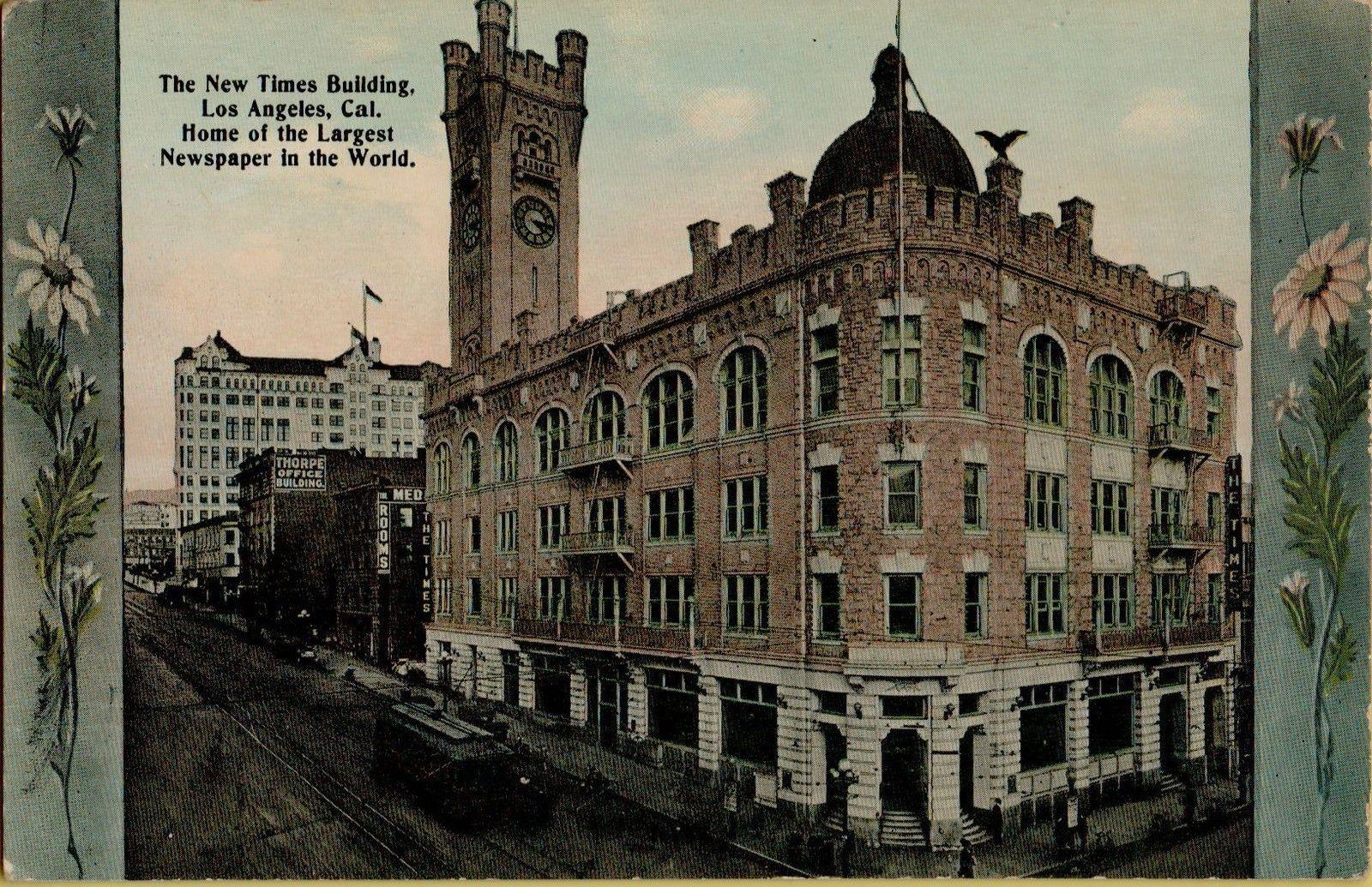 los angeles times building 1912 j h graham