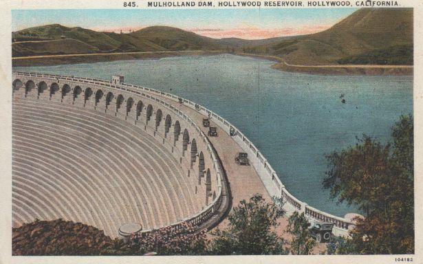 mulholland_dam_hollywood_reservoir_1920s