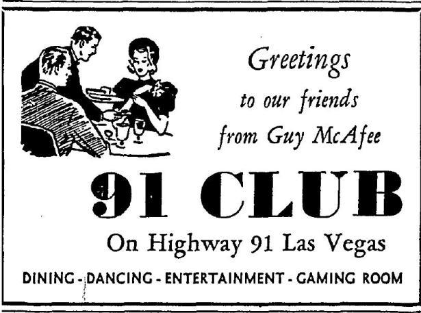 Mar-1940-Guy-McAfee-Club91-Las Vegas