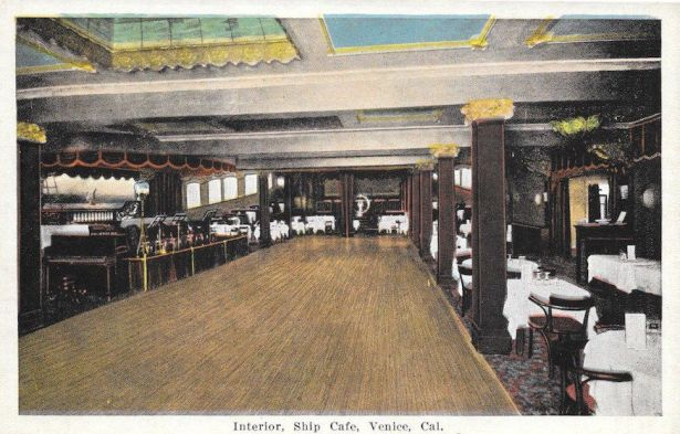 Interior of the Ship Cafe, 1920s