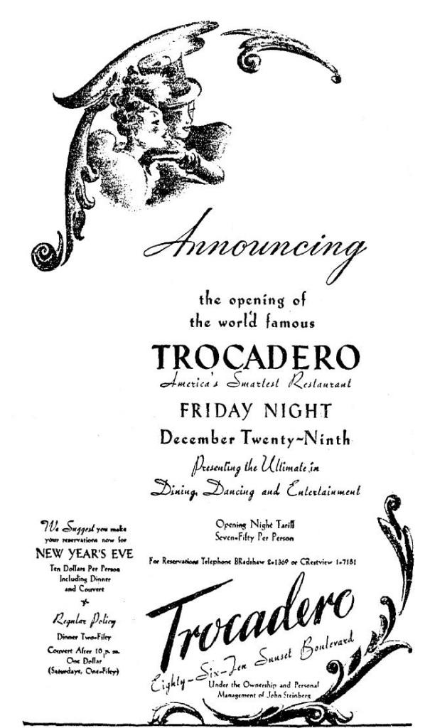 1939 12 25 trocadero party