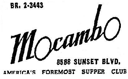 1942 1 7 mocambo 8588 sunset 1940s