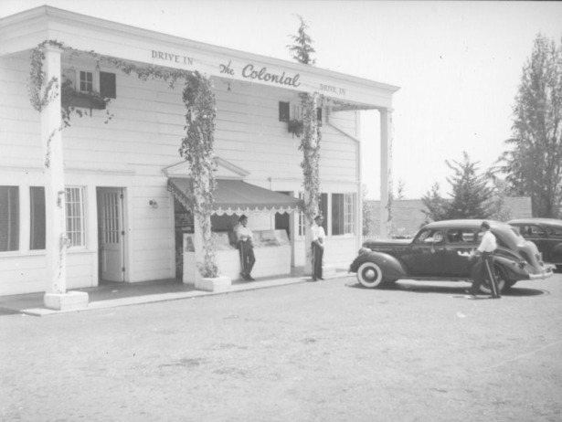 Colonial Drive-In 8240 sunset-1938