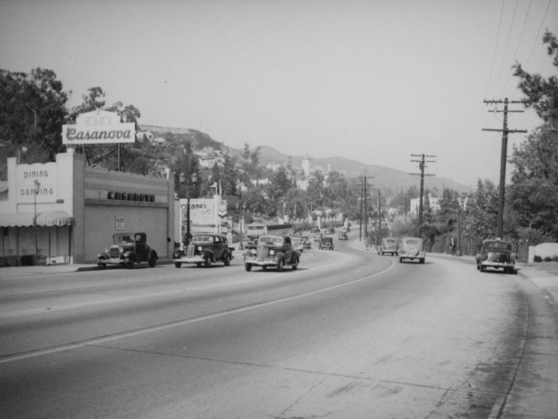 8383 Sunset Strip ca. 1938