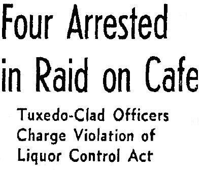 8730 Sunset Blvd raid 9-3-1939