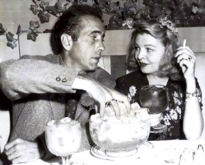 bogart and Mayo Larue 1944