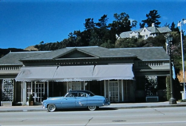elizabeth arden 8597 sunset blvd 1950s