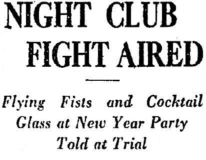 trocadero brawl 1934