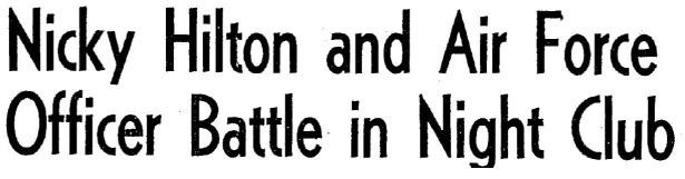 1951 2 22 nicky hilton