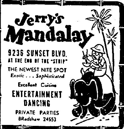 9236 Sunset Blvd 1938 Oct