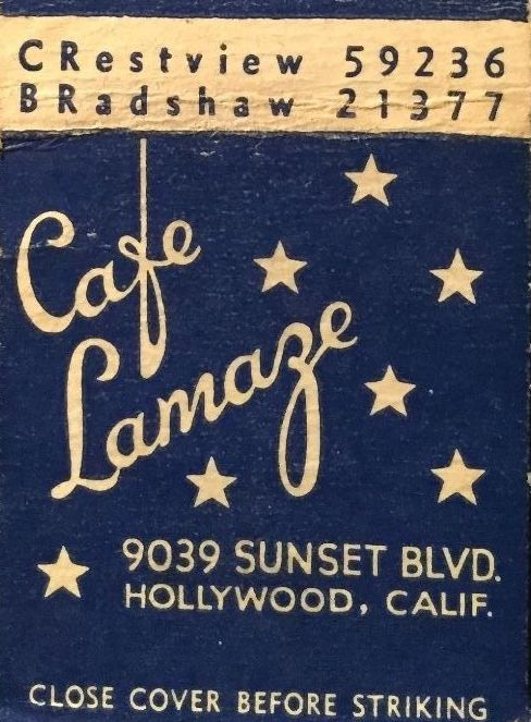9039 Sunset Blvd. as cafe lamaze (2)