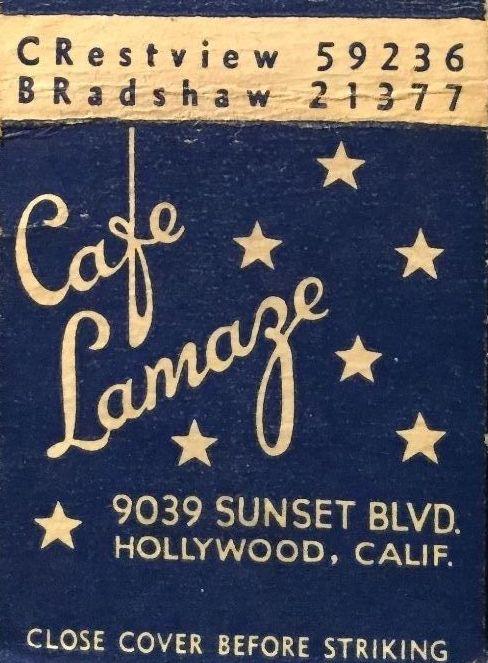 9039 Sunset Blvd. as cafe lamaze (2)