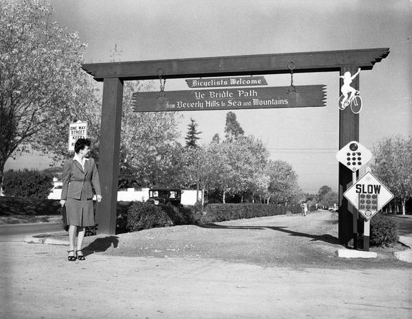 sunset blvd bridle path 1942
