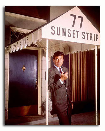 The address 77 Sunset Strip was fictional. It was filmed at 8524 Sunset Blvd., formerly Ruth St. Denis' Asia Bazaar store, then Charocka Russian restaurant, and finally Dino's Lodge.