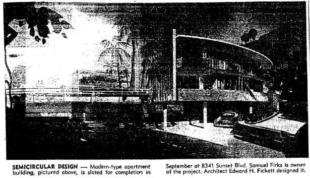 8341 sunset firks 9-30-1953