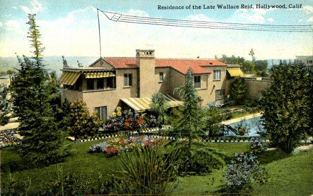 wallace reid's house