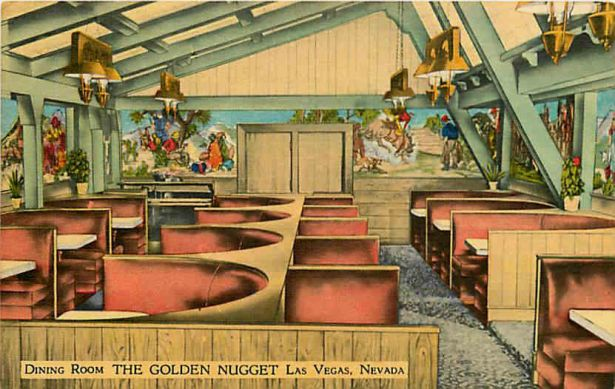 The Golden Nugget dining room was originally operated by Tony Lucey.