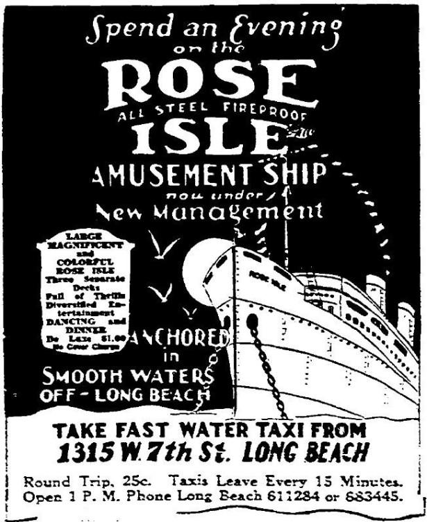 Rose Isle gambling ship