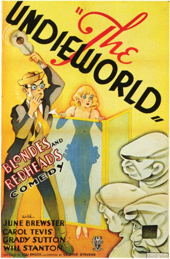 The Undieworld, a 1934 2-reeler featuring June Brewster, was a comic gangster tale.