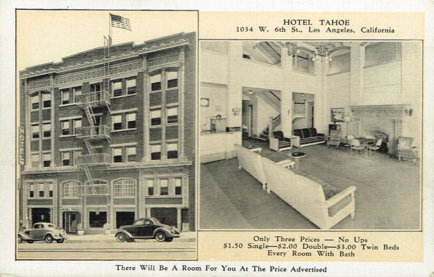 1043 W. 6th St. Hotel Tahoe