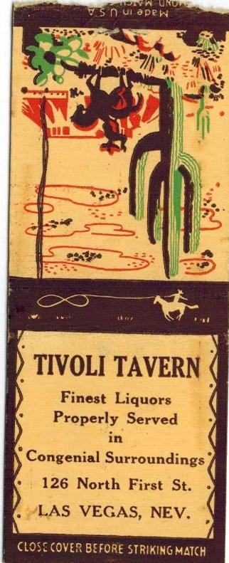 Tivoli Tavern las vegas guy mcafee