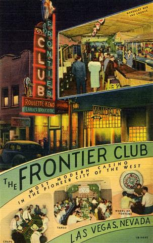 the Frontier Club Las Vegas