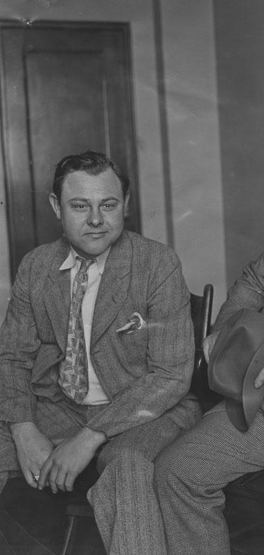 Frank B. Cox in 1938. LAPL.