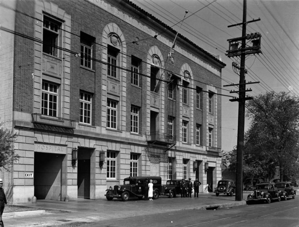 georgia street receiving hospital