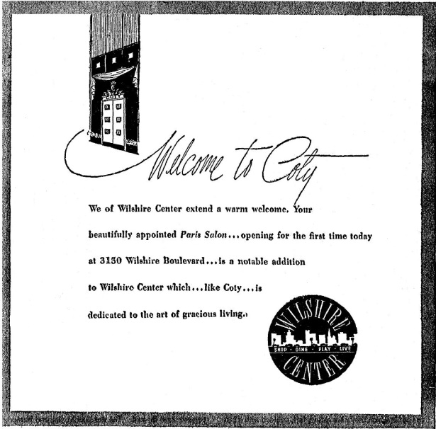Coty Salon Wilshire