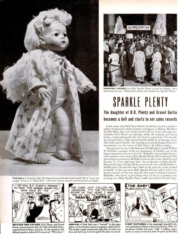 Life magazine Sparkle Plenty