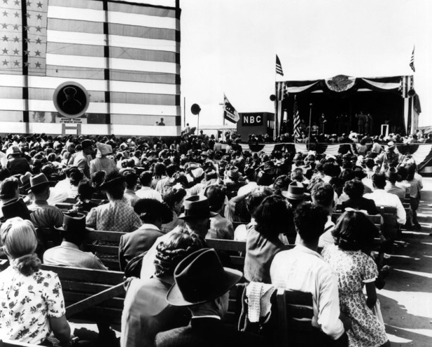 Dedication Day at Rodger Young, April 27, 1946. LAPL